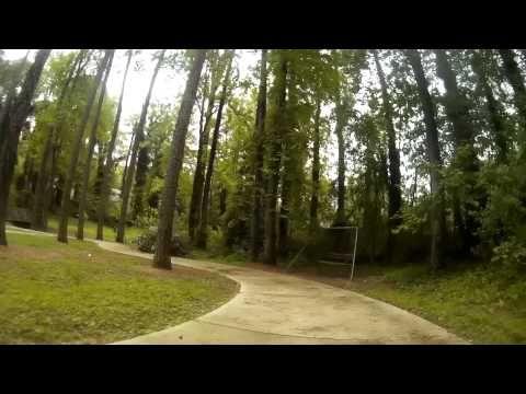 QAV250 FPV Laps Around Bernard Halpern Park