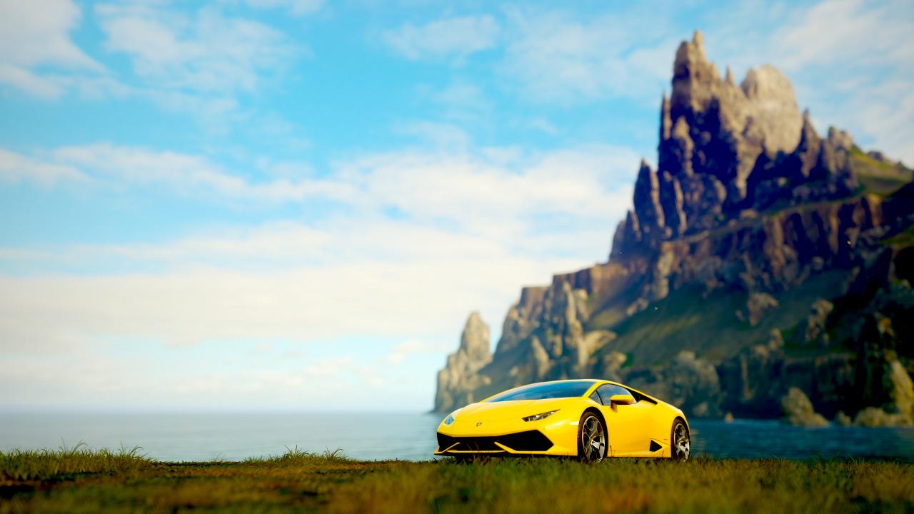 Forza Horizon 4 Wallpaper 4k Full Hd Hd Lamborghini Huracan Forza Horizon 4 Forza Forza Horizon