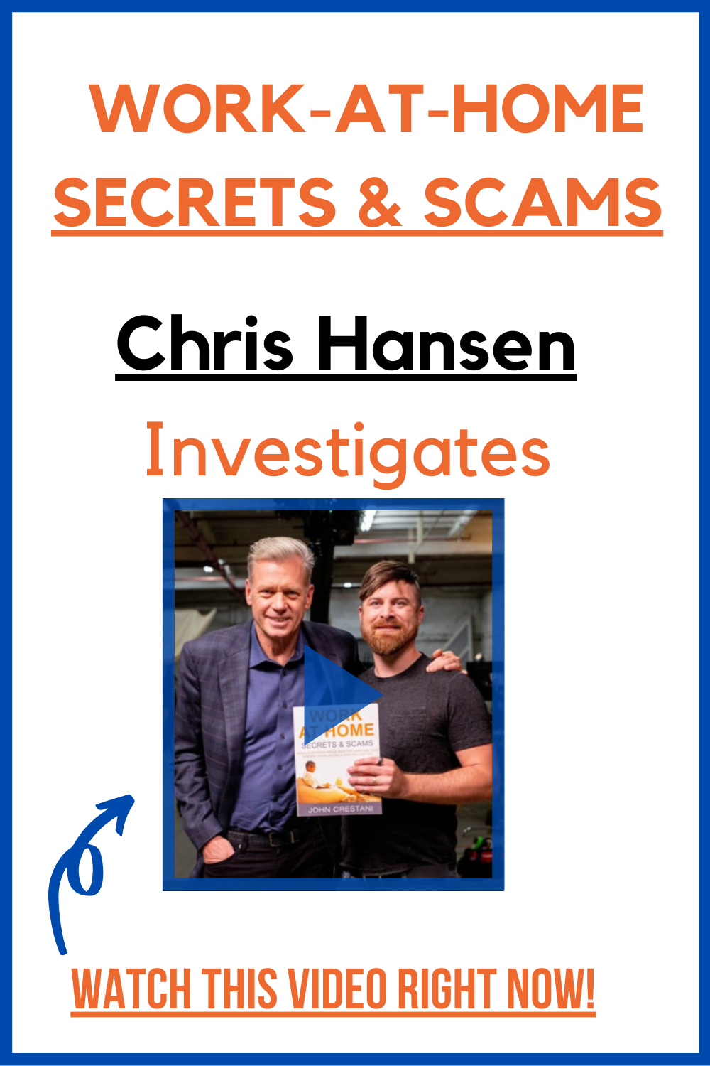 Work At Home Scams Secrets Revealed By Internet Legend Investigation By Chris Hansen Working From Home Legit Work From Home Work From Home Jobs