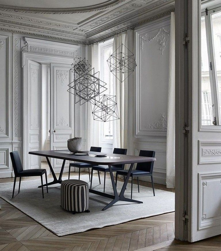 43 Comfy And Modern Dining Room Design Ideas You Can Try In 2020 Affordable Dining Room Dining Room Design Modern Dining Room Design