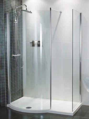Solid Surface Shower Base Orbital 1450 Roman Bathroom Design