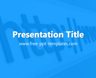 Internet powerpoint template is a blue template with appropriate internet powerpoint template is a blue template with appropriate background image which you can use to toneelgroepblik Gallery