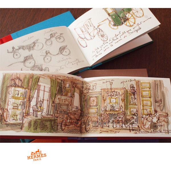 BUYMA.com HERMES 世界で完全完売 Philippe Dumas スケッチブック9冊セット(14616787)