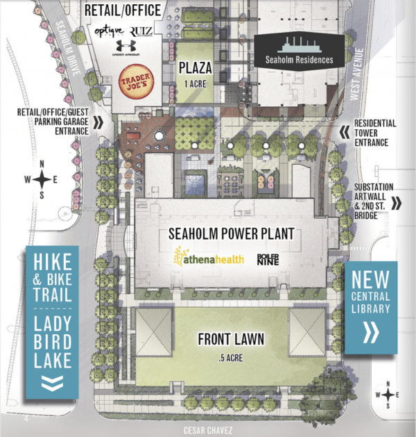 seaholmsiteplan Architecture and historic houses – City Of Austin Site Plan Application