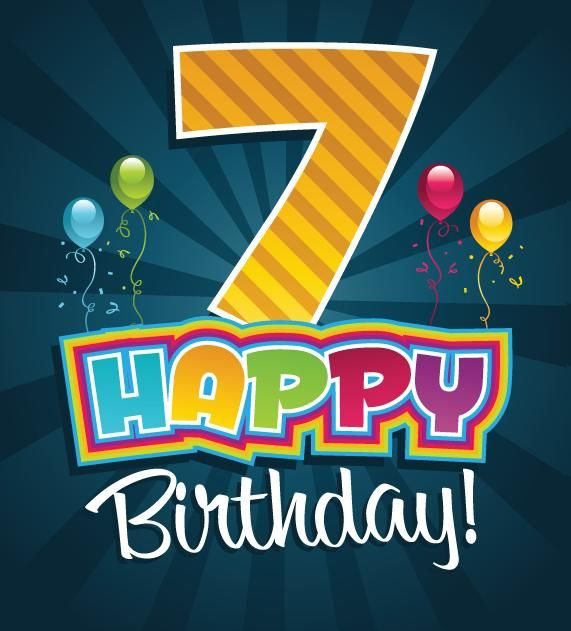 Here You Will Get The Best Birthday Wishes For Happy 7th Birthday