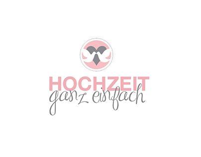 """Check out new work on my @Behance portfolio: """"Hochzeit Ganz Einfach - Logo Design"""" http://be.net/gallery/38560979/Hochzeit-Ganz-Einfach-Logo-Design"""