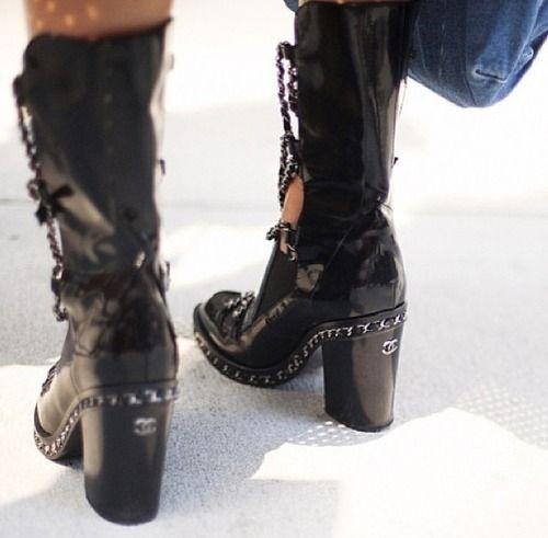 la modella mafia Chanel 2013 street style 8