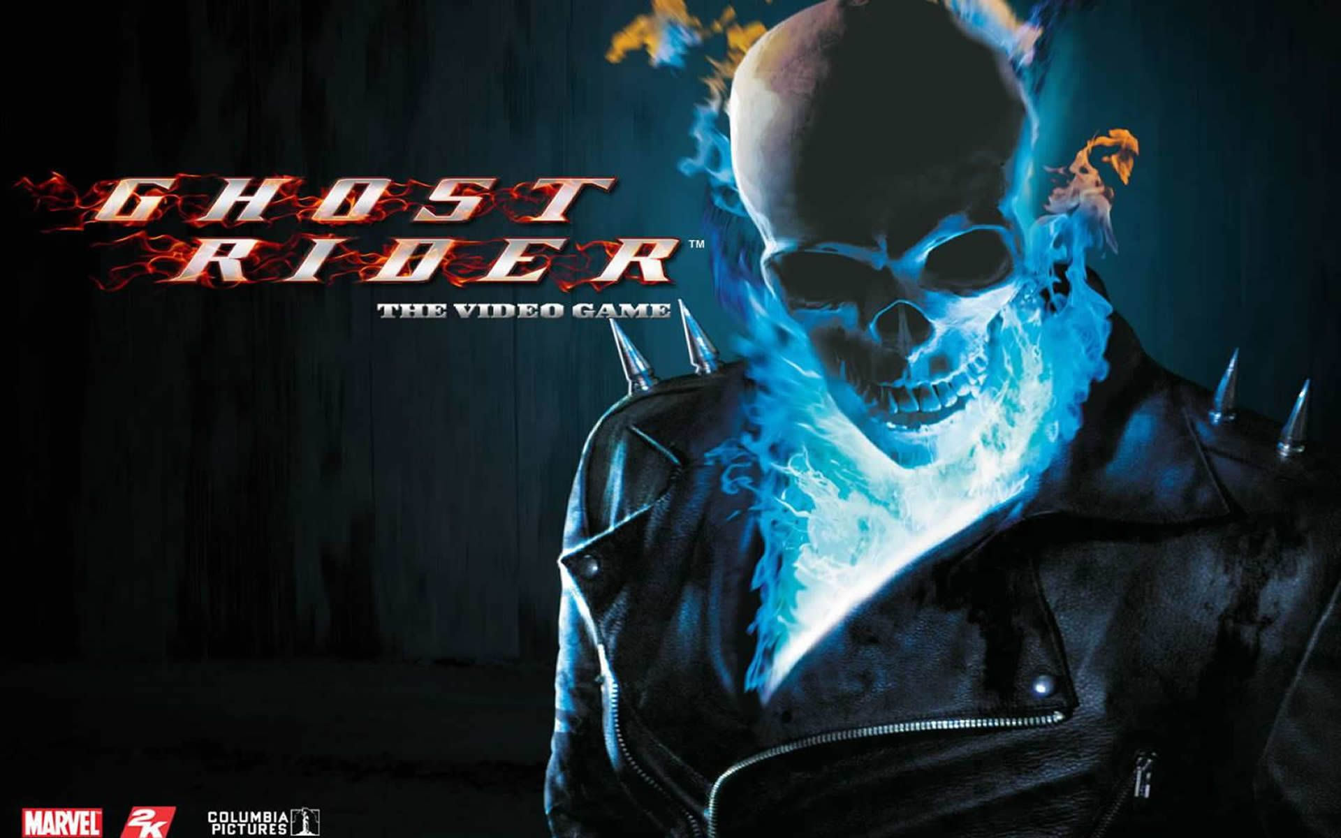Ghost Rider Blue Flame Skull (With images)