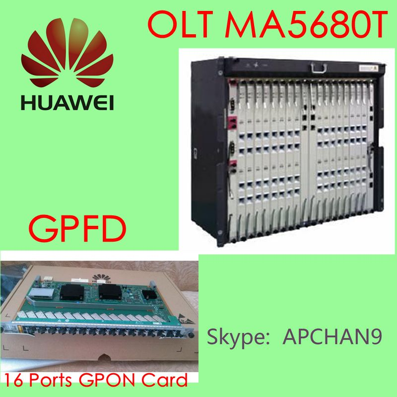 HUAWEI GPON OLT in promotions# ^_ ^_^ MA5680T with 16