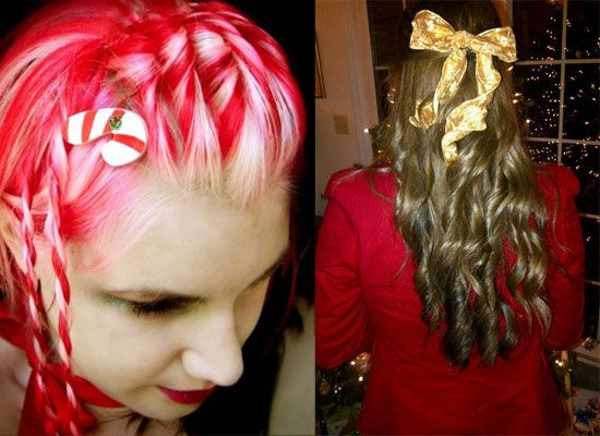 Gallery For > Crazy Christmas Hairstyles - Gallery For > Crazy Christmas Hairstyles Cute & Funny Holidays