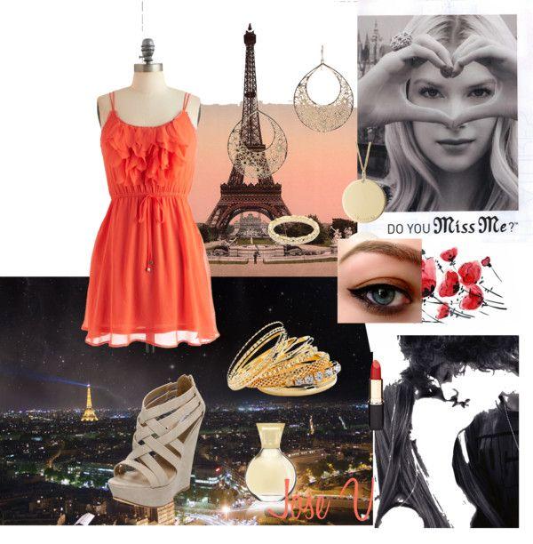 """""""París"""" by josefi ❤ liked on Polyvore"""