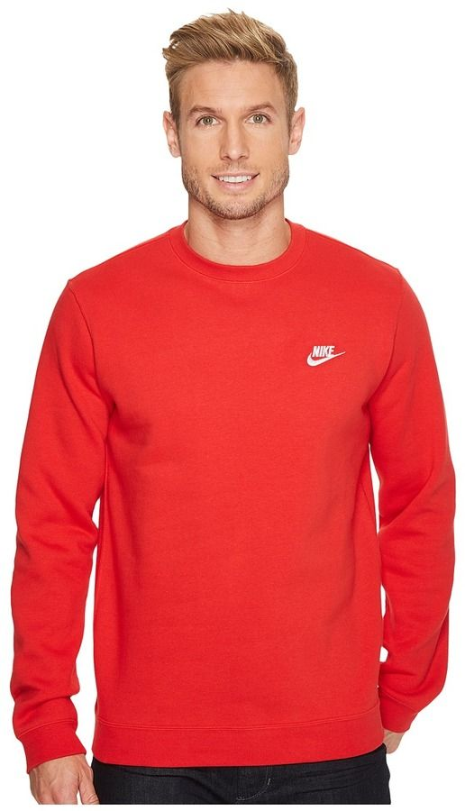 037f41154ad8 Nike Club Fleece Pullover Crew Men s Fleece
