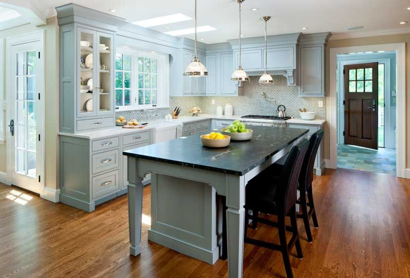 Renovation For The Next Hundred Years  Black Granite Countertop Prepossessing Period Kitchen Design Design Inspiration