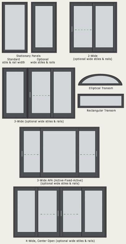 Die besten 25 moderne terrassent ren ideen auf pinterest moderne terrassen t ren falten - Bodentiefe schiebefenster ...