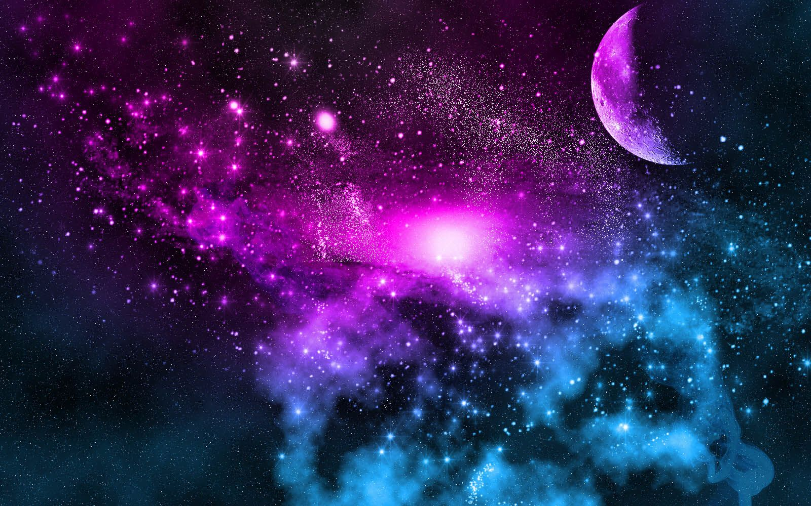 Space Bedroom Wallpaper Moon In Space With Galaxy Wallpapers Pinterest Galaxies And