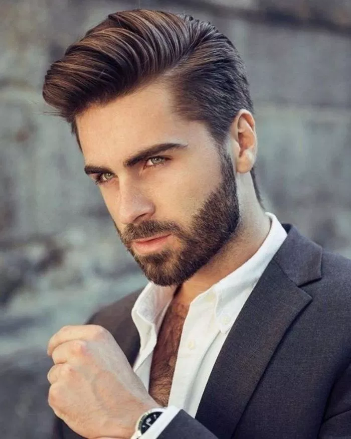 The Best 30 Hairstyle For Men Talkinggames Net Thick Hair Styles Mens Hairstyles With Beard Long Hair Styles Men