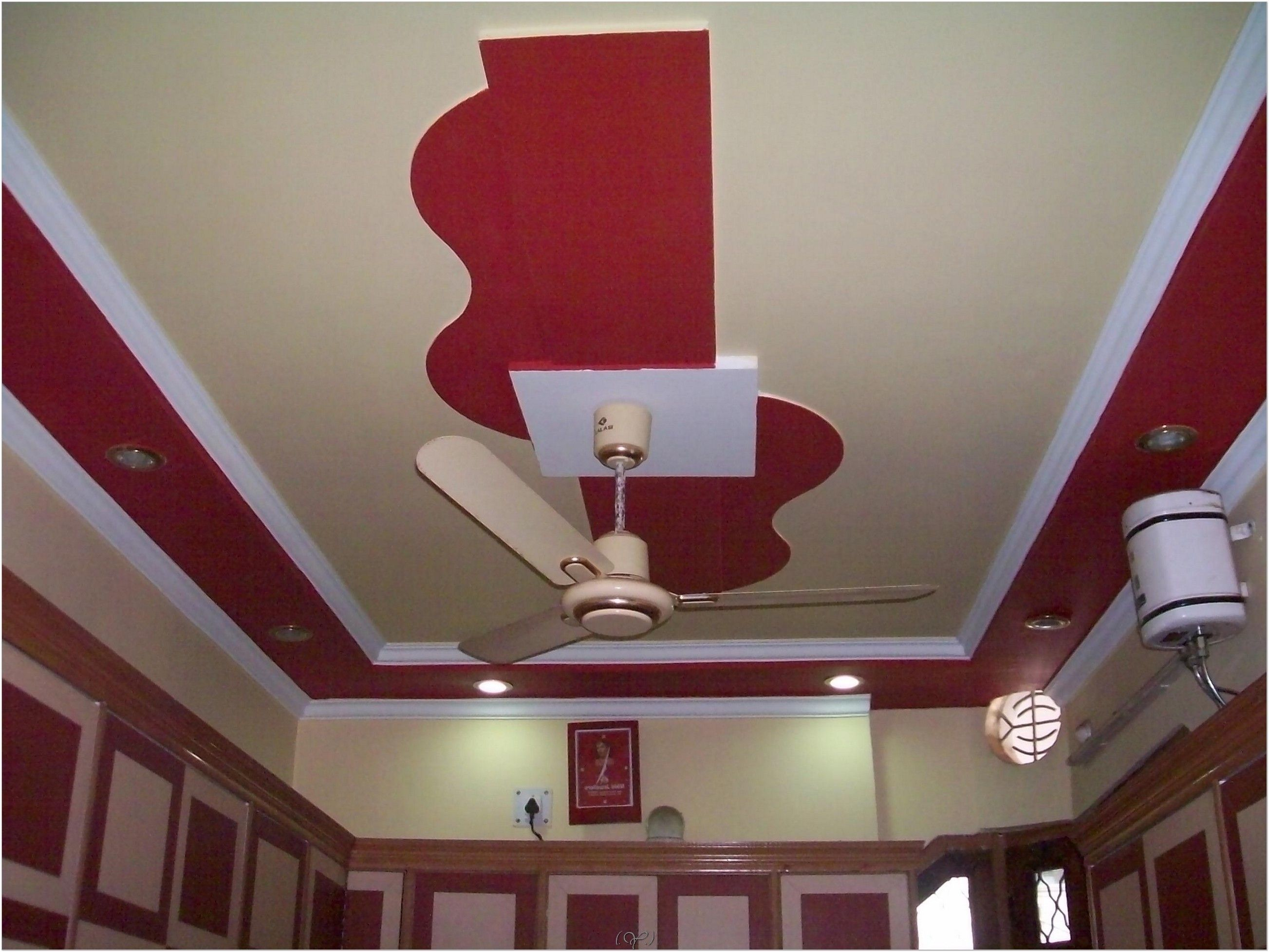 Simple Pop Design For Small Bedroom  Ceiling design for