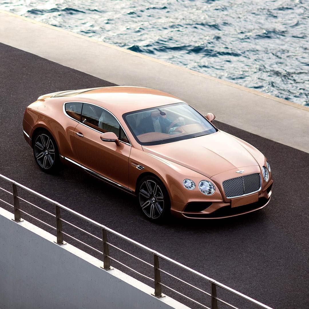 Cars Luxury Cars Bentley: @TomClaeren Drove The #Continental In Amber At Le Port De
