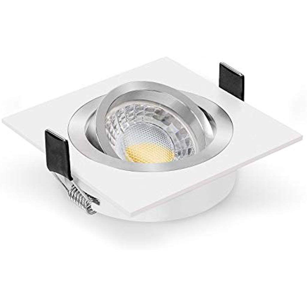 Ledox Led Einbauleuchte Set Dimmbare Steuerbare Farbtemperatur Dim2warm Inkl Einbaurahmen Bicolor Eckig Wei In 2020 Einbauleuchten Led Einbaustrahler Innenbeleuchtung