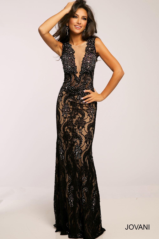 http://www.jovani.com/prom-dresses/99077-black-prom-dress ... - photo #4