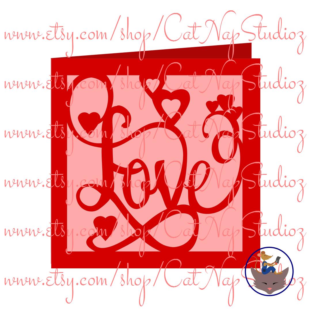 valentine's card svg file at etsyshopcatnapstudioz