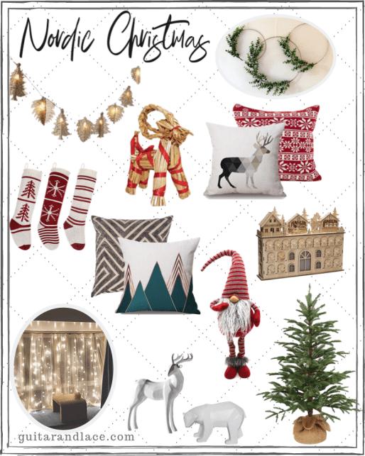 Scandinavian Christmas Decor Scandinavian Christmas Decorations Swedish Christmas Decorations Christmas Decorations