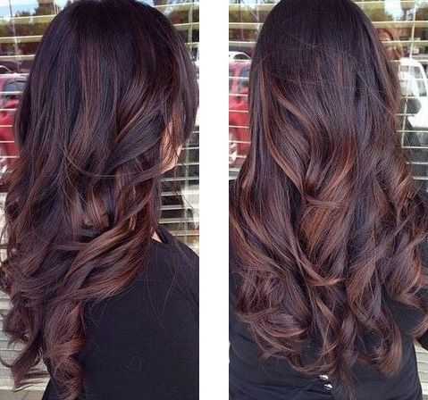 Balayage on a black hair hair and beauty pinterest balayage balayage on a black hair balayage dark hairombre hairhighlight pmusecretfo Images