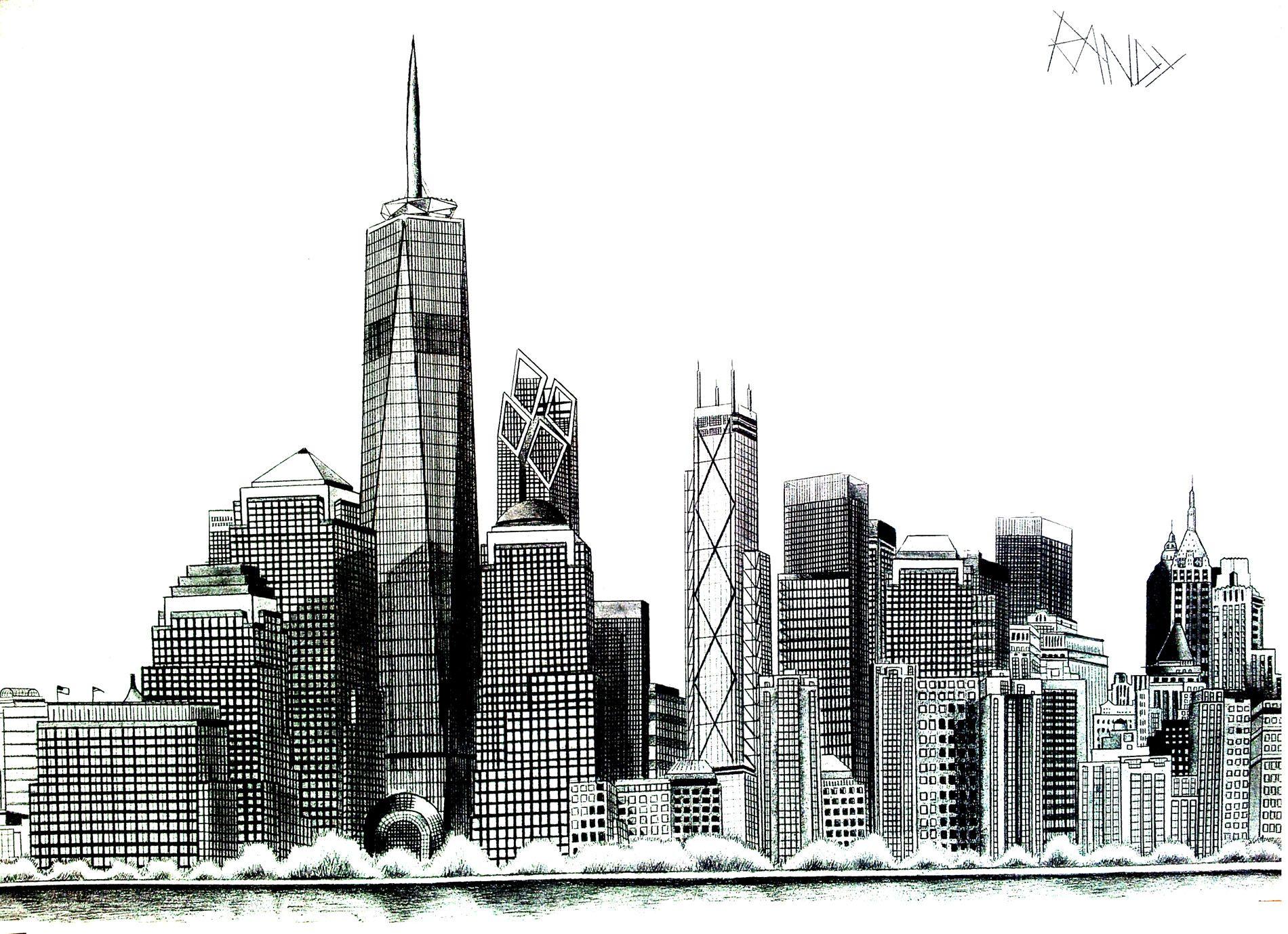 Coloriage Anti Stress New York Newyork Pinterest