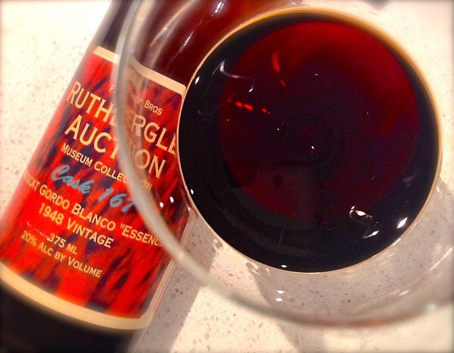 All Saints 1948 Muscat Gordo Blanco Essence Wine John Travolta Yummy