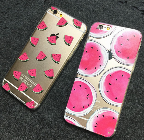 "212km: "" Watermelon Print Cases x Use teaboxes10 for a discount """