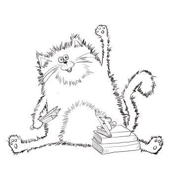 Splat the Cat | First week of Second | Pinterest | Actividades ...