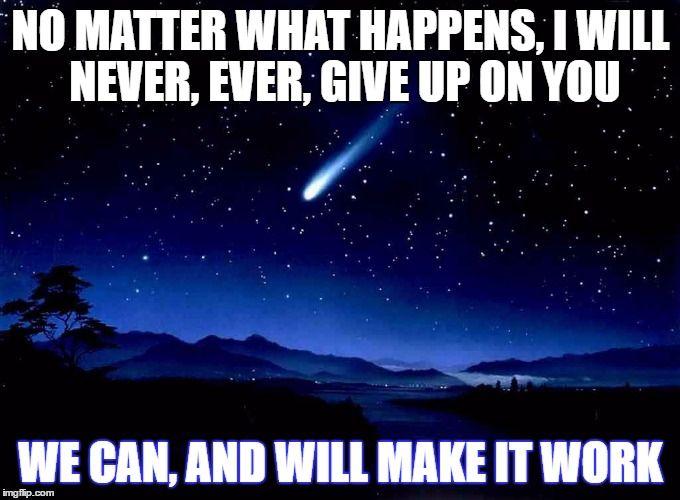 c70f7e902634964cf90c04a71e938438 shooting star meme generator imgflip relationships pinterest