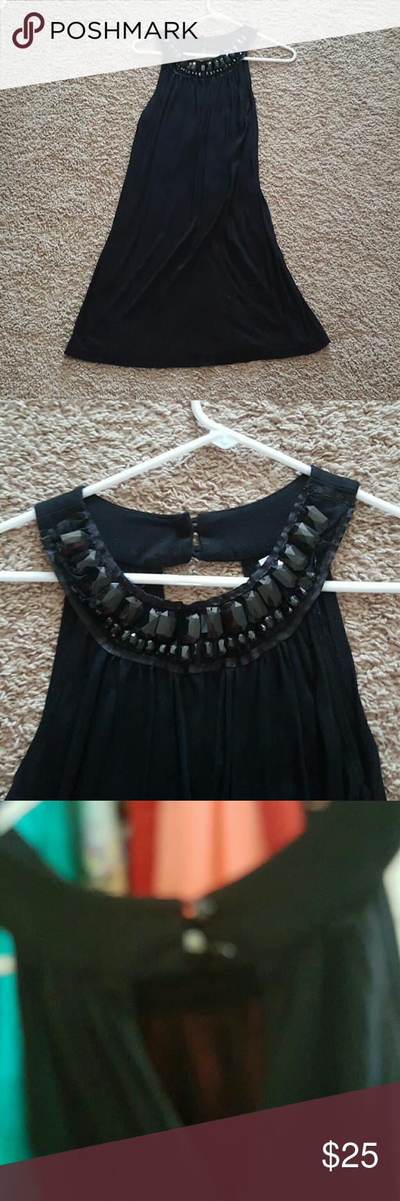 Little black dress Lightweight. No beads are missing. Worn once. Dresses Mini