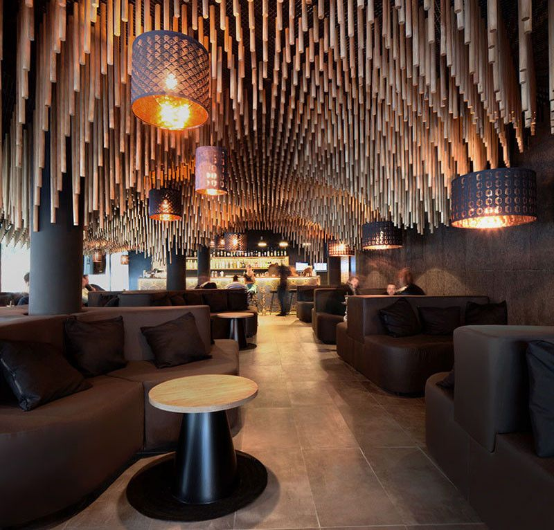 Innovative Designs That Really Make A Difference Ceilings, Bar - innovatives decken design restaurant