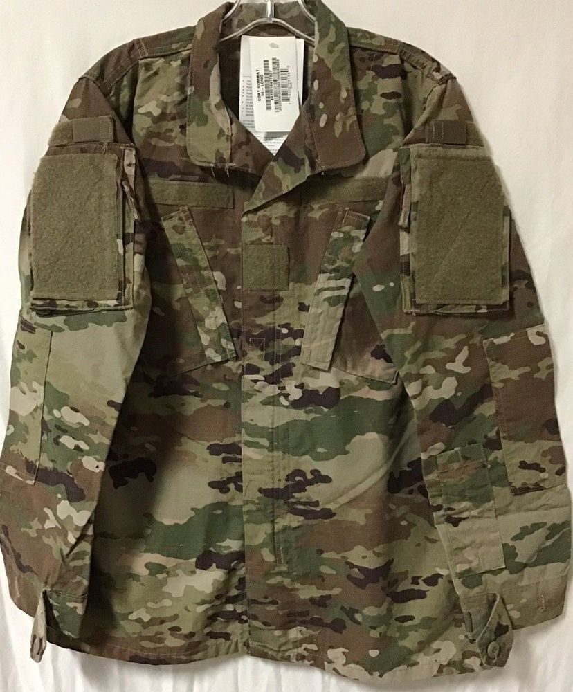 SCORPION OCP W2 FLAME RESISTANT, ARMY COMBAT UNIFORM COAT