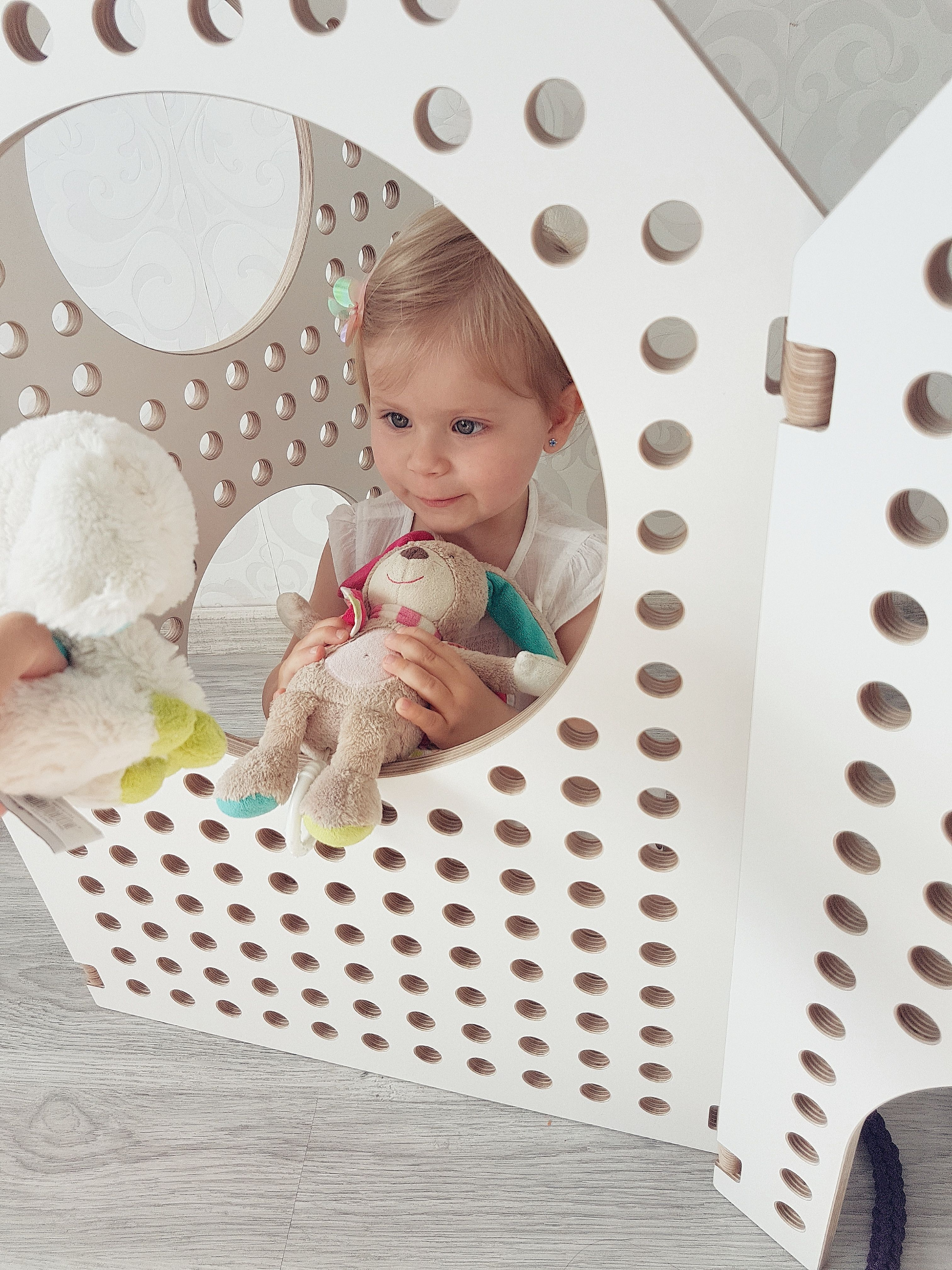 Sensory Play Space Divider | Playroom design | Sensory play, Space