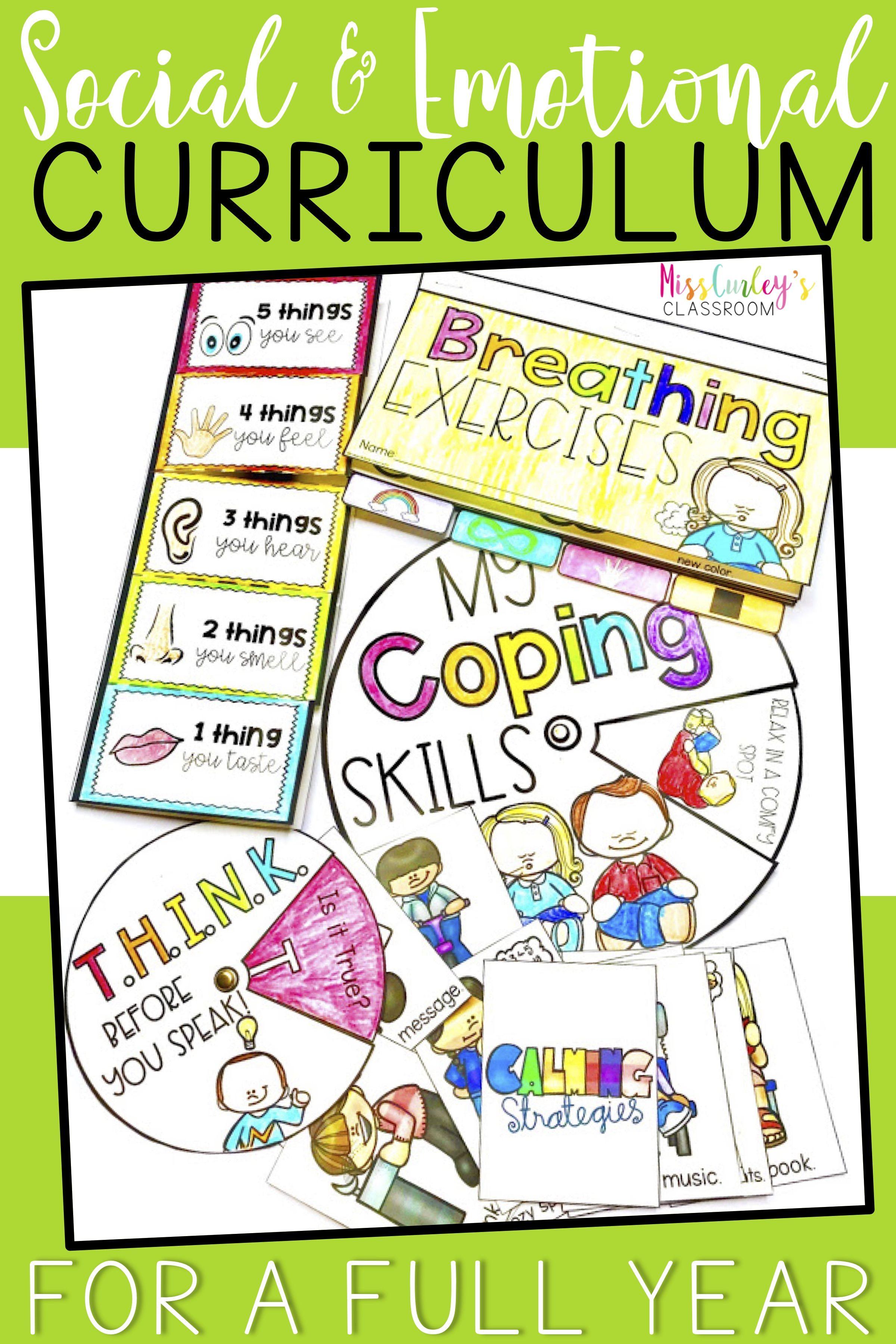 Sel Full Year Curriculum Social Emotional Learning Activities Social Emotional Learning Social Emotional