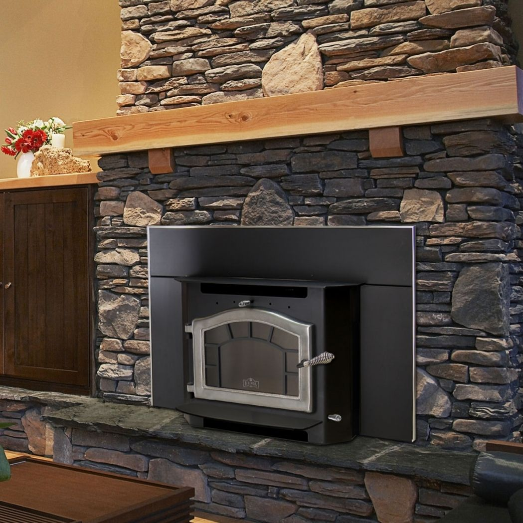 20 Best Fireplace Mantel Ideas For Your Home Wood Burning Fireplace Inserts Wood Stove Fireplace Insert