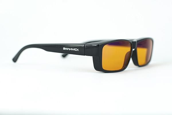 c133411ecf Swannies Fitovers (Wear OVER Your Prescription Glasses or Readers) - Blue  Light Blocking Glasses
