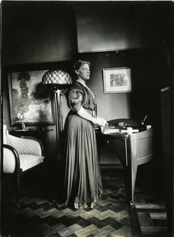 Maria Sèthe - echtgenote van H. van de Velde. 1867 - 1943   Henry ...