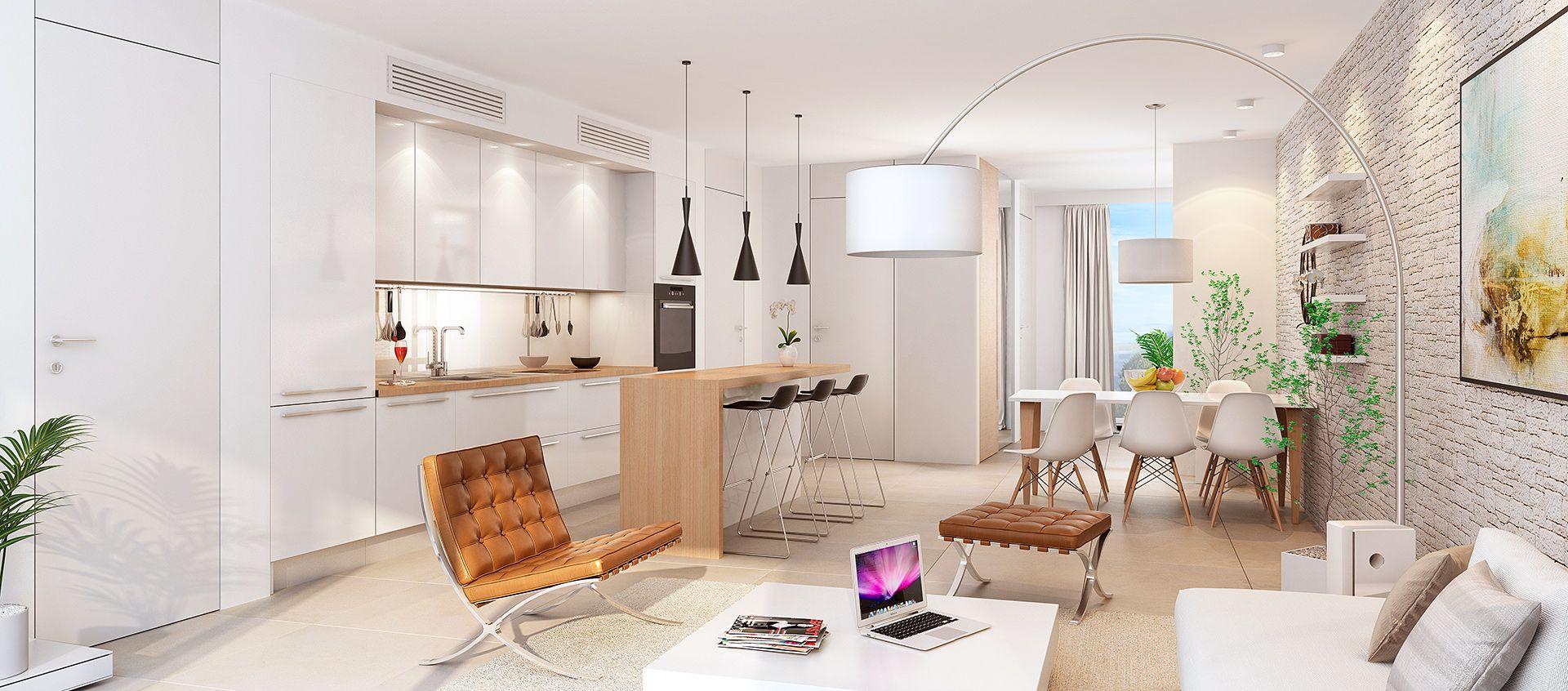 50m2 apartment design Google Search Interieur, Studio