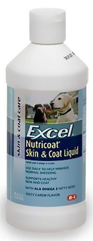 8 in 1 Excel Nutricoat Skin & Coat Liquid for Dogs, 32 Ounce Bottle - buy your dogs supplies from dog lovers just like you... « DogSiteWorld-Store