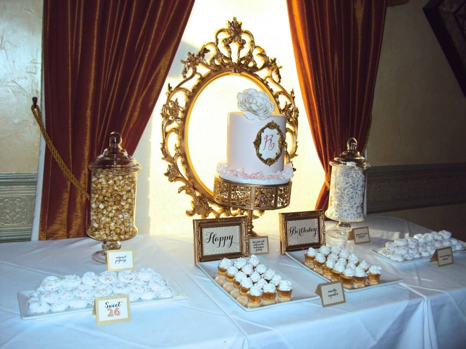 Dessert Table By The Sweet Boutique In Ottawa Cake Sugar Spice Stationery Inky Designs