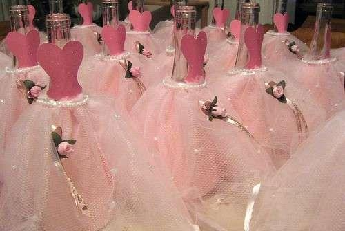 Botellas de vino decoradas para 15 a os 4 pinteres - Botellas de vino decoradas ...