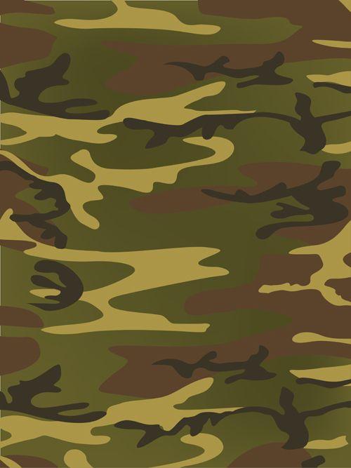 Different Camouflage Pattern Design Vector Set 02 Vector Pattern