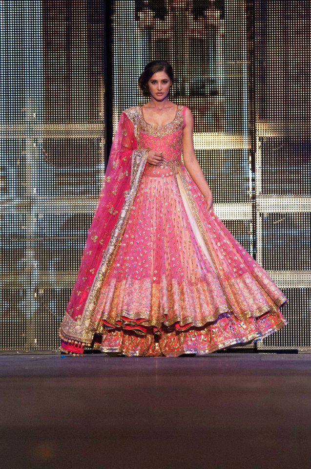 Manish Malhotra Double Layer Lehenga Choli | lehenga choli designs ...