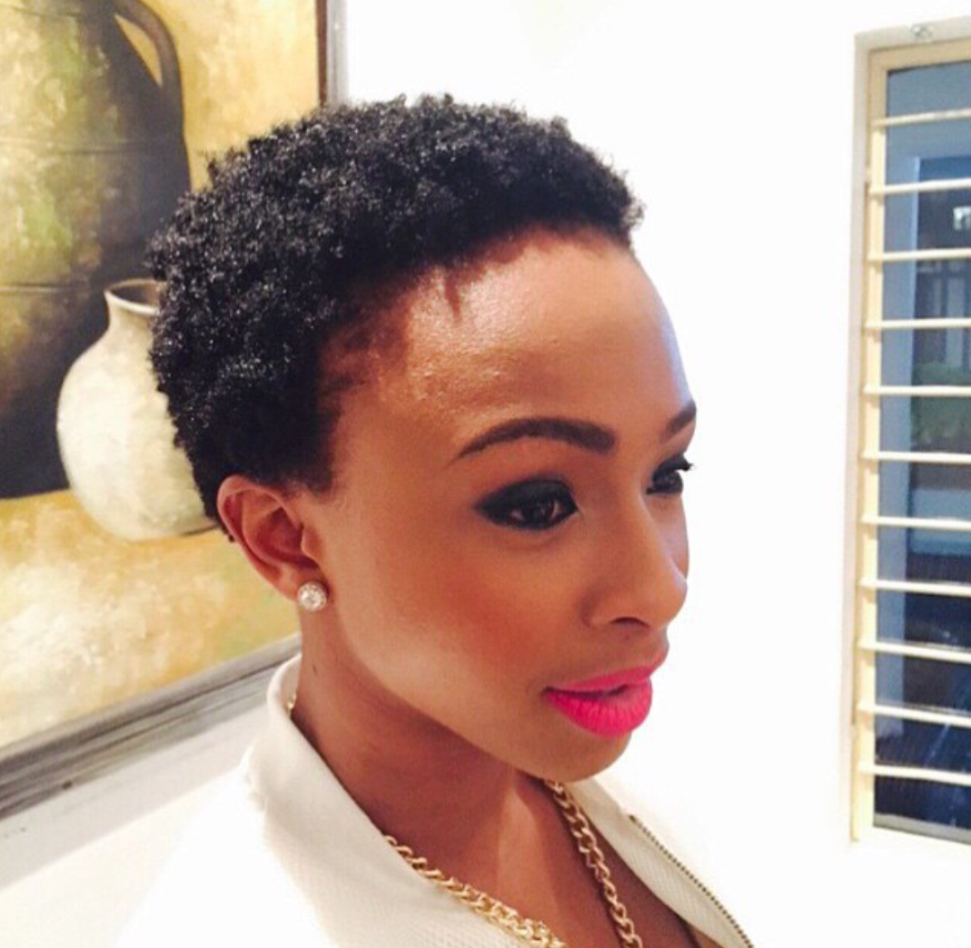 Boity Thulo | Low cut hairstyles, Short hair styles, Hair ...