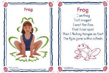 Preschool Yoga Cards