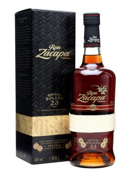 Ron zacapa centenario sistema solera 23 rum rum liquor for Food bar zacapa
