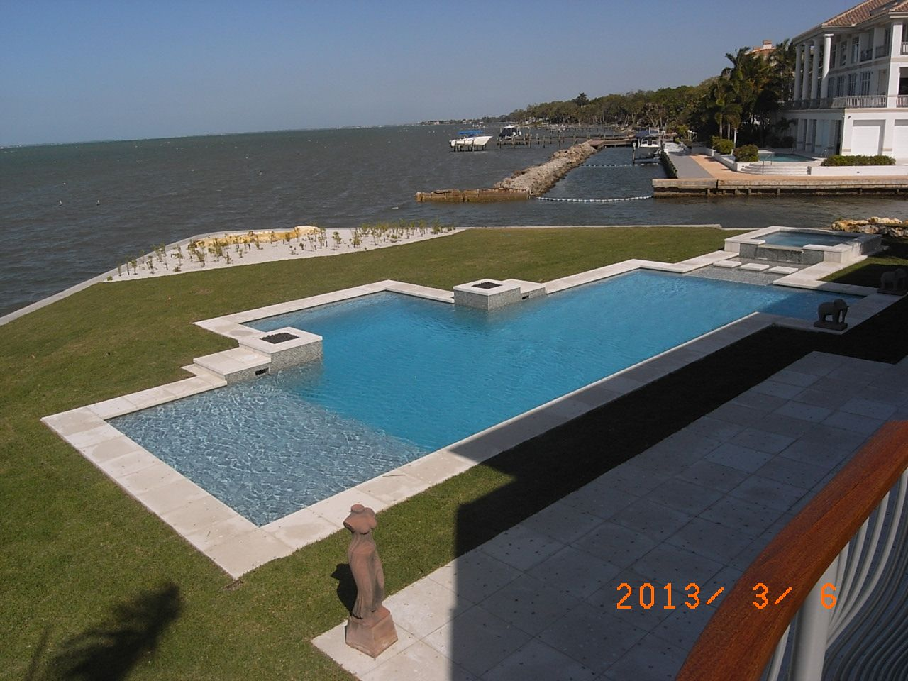 Pool With A View   By Pool Design Concepts Of Sarasota, Florida, A Client
